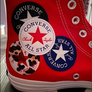 NBW Converse Logo Play High Top All Star